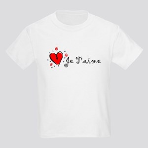 """""""I Love You"""" [French] Kids T-Shirt"""